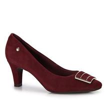 Sapato Salto Conforto Feminino Usaflex By Perfetto - Vinho