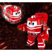Boneco Robot Trains + Acessórios (robô Trem) - Original