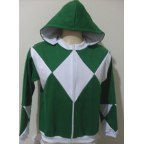 Moletom Unissex Estilizado Power Rangers Verde