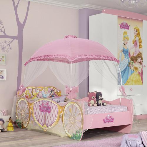 65052c786a Cama Infantil Carruagem Princesas Disney Star Com Dossel. Preço  R  868 9  Veja MercadoLibre