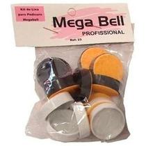 Refil De Lixa Pedicuro Mega Bell Com 12 Lixas