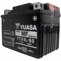 Bateria Ytx4l-bs Yuasa Titan125 Ks,cargo125 /biz100 Original