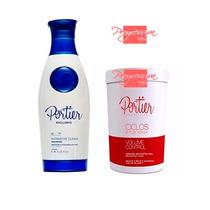 Máscara Capilar Btox Ciclos+shampoo Anti-resíduo Portier