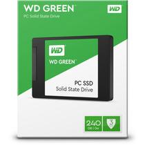 Ssd 240gb Wd Green 540mb/s Sata 3 2,5 6gb/s + Nf.