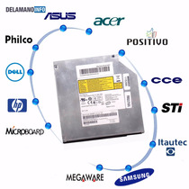 Gravadora Dvd Sata Notebook Itautec W7435 W7630 (4751)