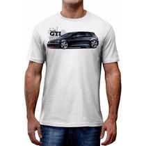 Camiseta Golf Mk7 Gti Volkswagen Carro Personalizada Asphalt