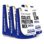 4x Whey Protein Isolate Mix - 900g Cada - Profit Original