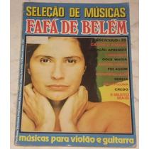 Seleção De Músicas - Fafá De Belém - Cifras - Anos 80