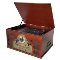 Toca Disco Ctx Maestro Bluetooth/lp/cd/usb/fm/gravação