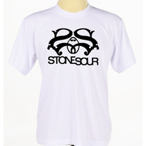 Camiseta Camisa Banda Rock Stone Sour Rap Hip Hop Reggae