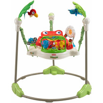 Pula Pula Para Bebês Fisher-price Rainforest Jumperoo