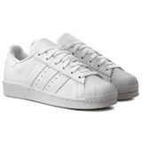 Tênis adidas Superstar Todo Branco Originals Promoção