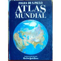 306 Lvs- Livro 1993 Atlas Geográfico Mundial Folha São Paulo