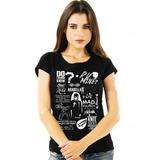 Camiseta Blusa Feminina AM Arctic Monkeys