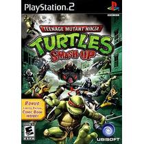 Turtles Smash-up Tartaruga Ninja Patch Play2