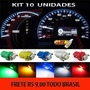 Kit Lampada Led T5 B8.5 Para Painel Suporte Mosquito 10 Und