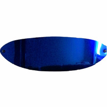 Viseira Para Capacete San Marino Espelhada Azul