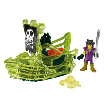 Imaginext Navio Fantasma Pirata Cfc08