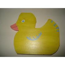 Lindo Pato Patinho Em Mdf Brinquedo Madeira Educativo