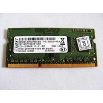 Memoria P/ Notebook 2gb Ddr3 Pc-12800s 1600mhz