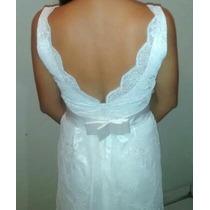 Vestido De Noiva, Feito Na Costureira, Usado Apenas Uma Vez.