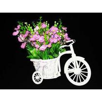 Arranjo Flores Artificiais - Artificial Vasos Bicicletas