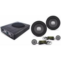 Set Audiophonic Com Caixa Amplificada Aps2.1 + Kit Ks6.1