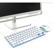 Hk-3910 Teclado Mouse Sem Fio Wifi 2.4 Ghz Slim Ipad Tablet