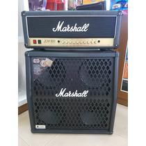 Set Marshall Jcm900 + Caixa 1960 Dm Celestion V30
