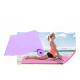 Colchonete Tapete Yoga Ginástica Pilates 150cm X 50cm