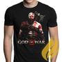 Camisa, Camiseta Jogos Games God Of War 4 Frete R$ 10,00!!!