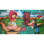 Painel Decoração De Festa Chapéuzinho Vermelho - 3x2