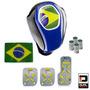 Kit Copa Do Mundo Completo Interior Automotivo Azul E Preto