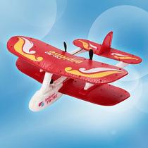Avião Mini Biplano Infravermelho 2 Motores Controle Remoto