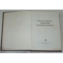 Enciclopedia Mirador Internacional - Vol 03 - (cód. 1063)