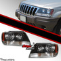 Farol Jeep Grand Cherokee 99/ 01 Laredo Cristal + Brinde