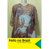 Camiseta De São Jorge - Salve Jorge