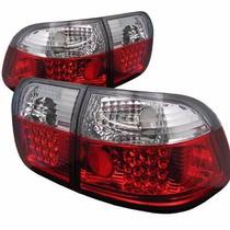 Lanterna Altezza Leds Honda Civic Sedan 1996 1997 1998 Rubi