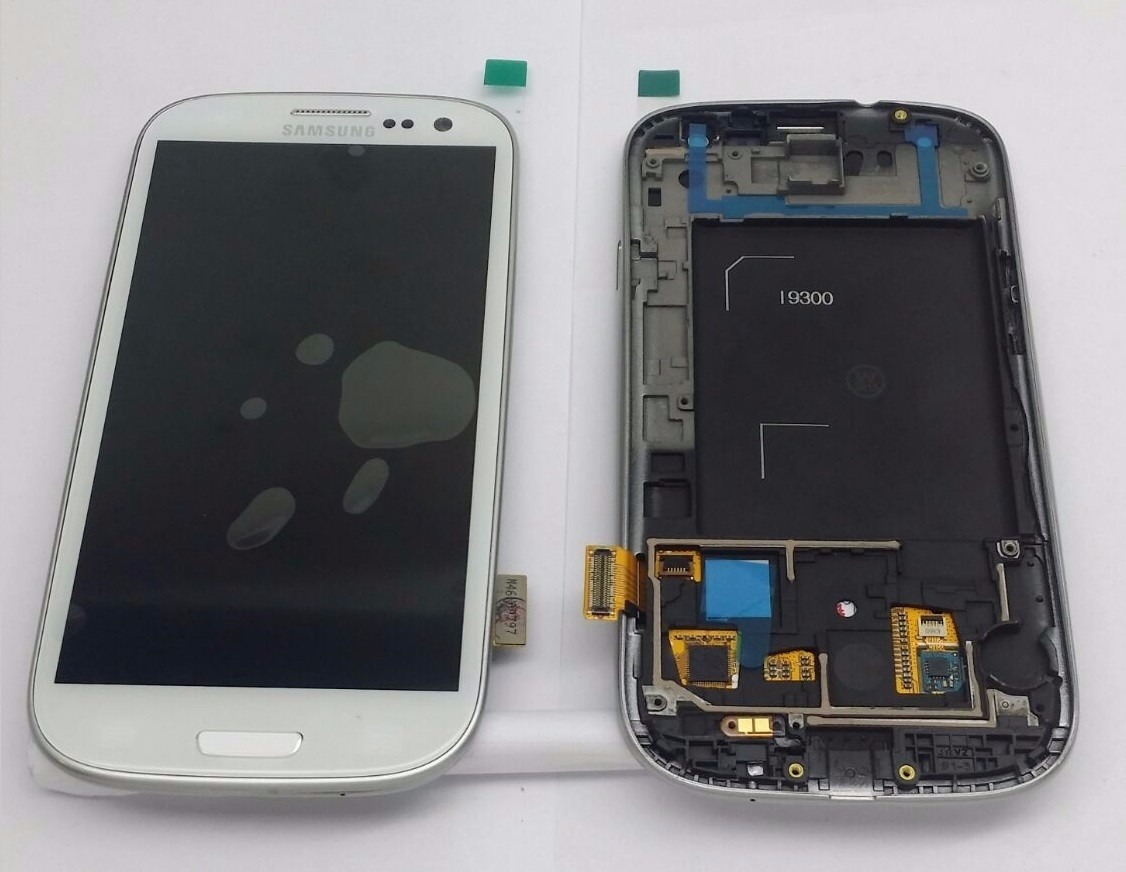 Tela Display Touch Lcd Galaxy S3 I9300 Branco