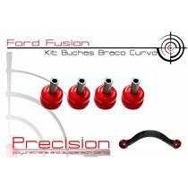 Ford Fusion - Kit Buchas Braço Superior Curvo Traseiro Em Pu