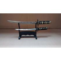 Espadas Samurai - Miniaturas, Conjunto E Com Suporte