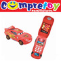 Celular Carros Cars Disney Yellow; Infantil Transforma Phone