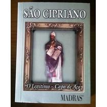 Livro São Cipriano - O Legítimo - Capa De Aço - Joseph J. C