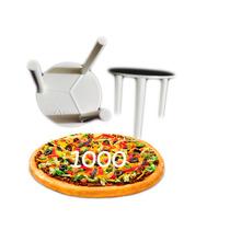Suporte Plástico De Pizza Mini Mesa Separador 1000 Unidades