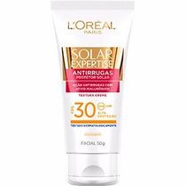 Protetor Solar Loreal Antirrugas Facial Fps30 50g Expertise