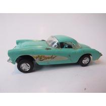 Antigo Carrinho De Plástico Corvette - Revell Brasil Anos 60