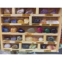 Coleção De 26 Pedras Preciosas Brasileiras/souvenir Brasil