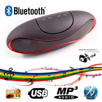 Caixa Som Bluetooth Portátil Usb Mp3 Rádio Fm Micro Sd Novo