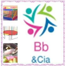Locação Piscina De Bolinha,cama Elástica,balão Pula Pula Abc