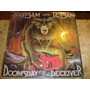 Lp Flotsam And Jetsam - Doomsday (86) C/ Jason ( Metallica )
